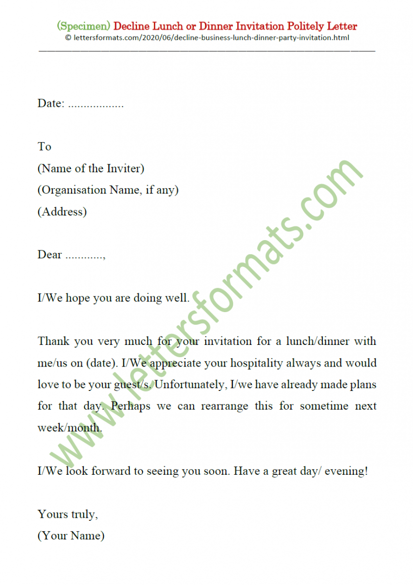 best dinner invitation email template excel example