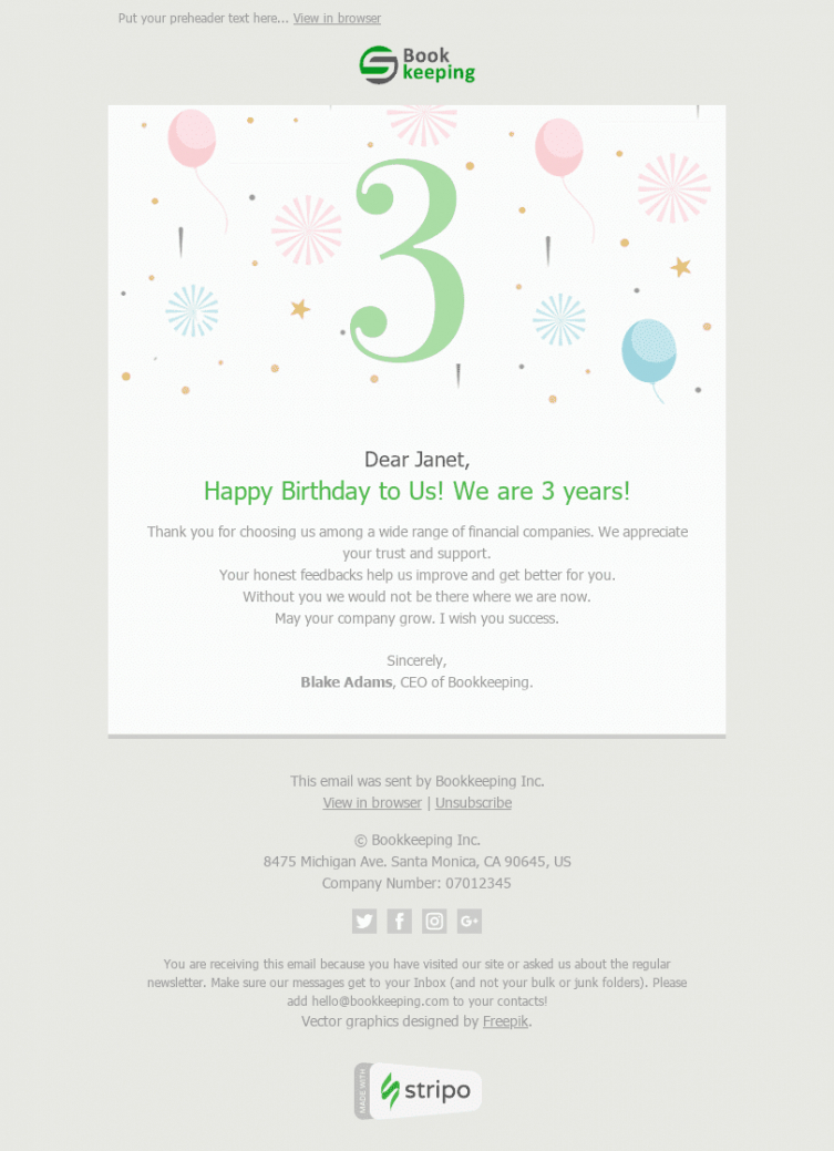 best thank you for registering email template  example