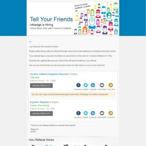 editable employee referral email template doc sample