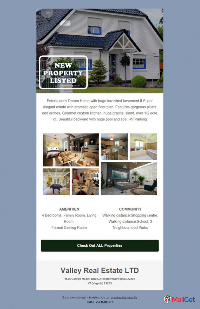 editable open house email template word sample