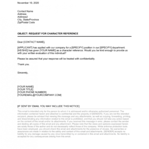 editable reference request email template excel example