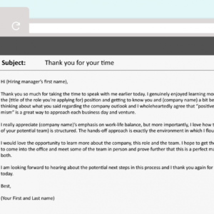 editable thank you for applying email template  example