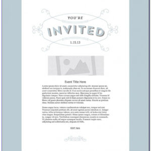 free dinner invitation email template excel example