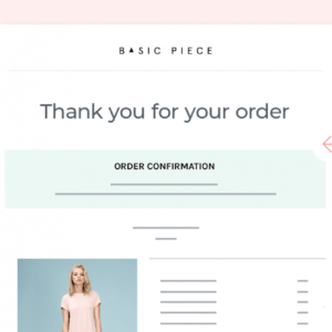 free shipping confirmation email template doc