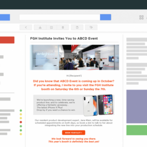 free trade show email template pdf