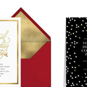 printable holiday party email template pdf sample