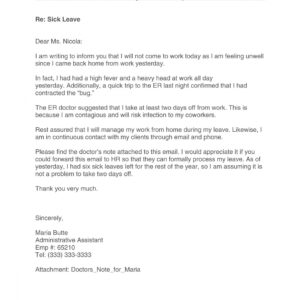 professional working from home email template excel