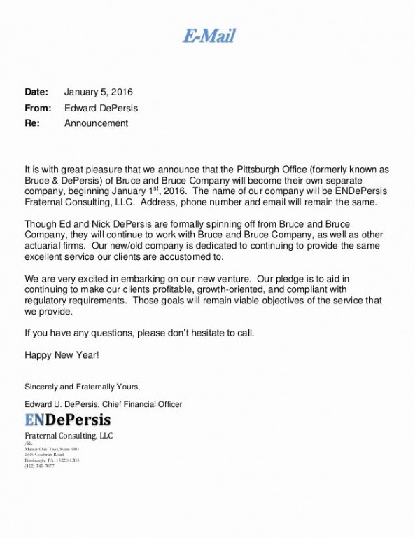 best promotion announcement email template word