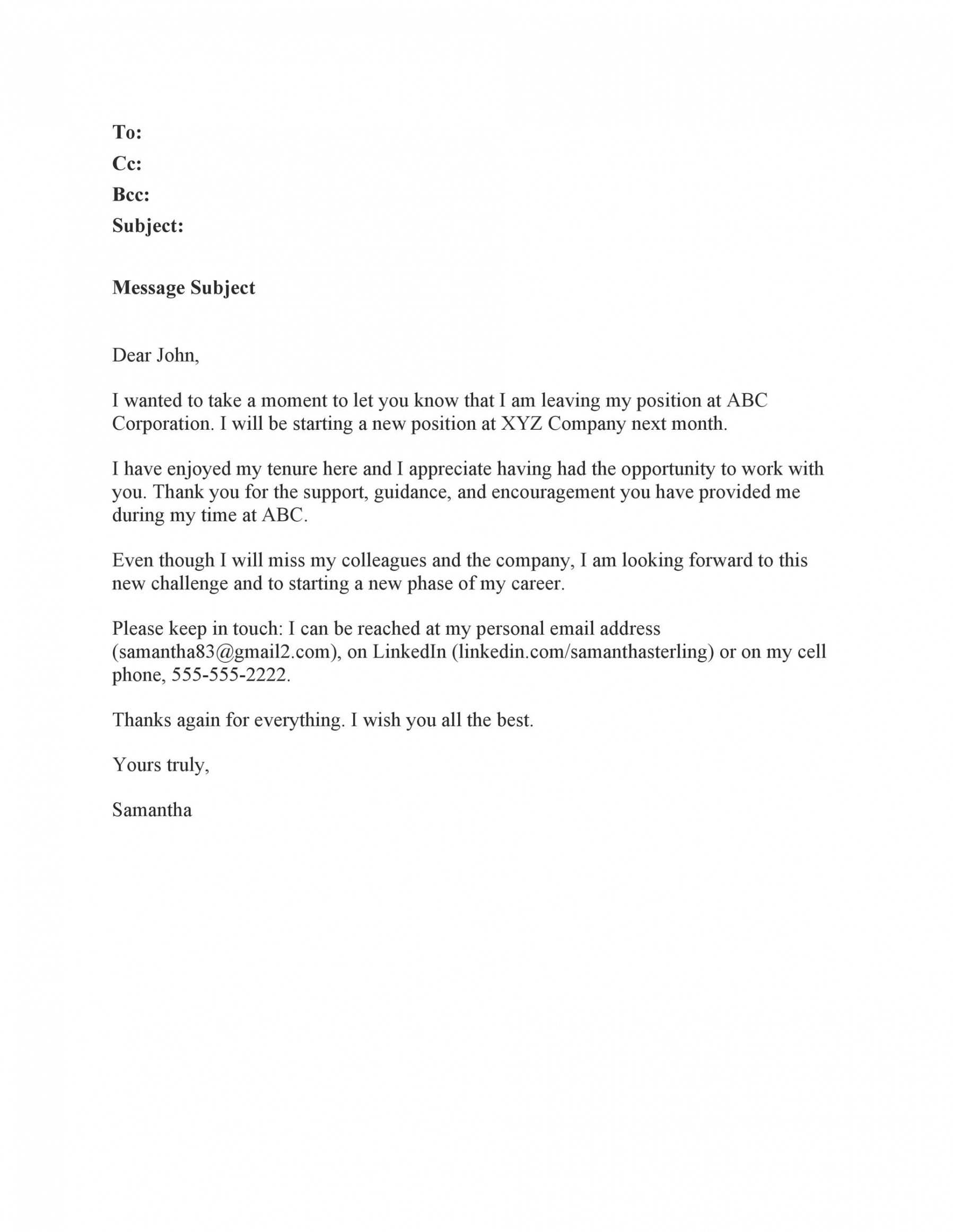 costum office closed email template doc sample