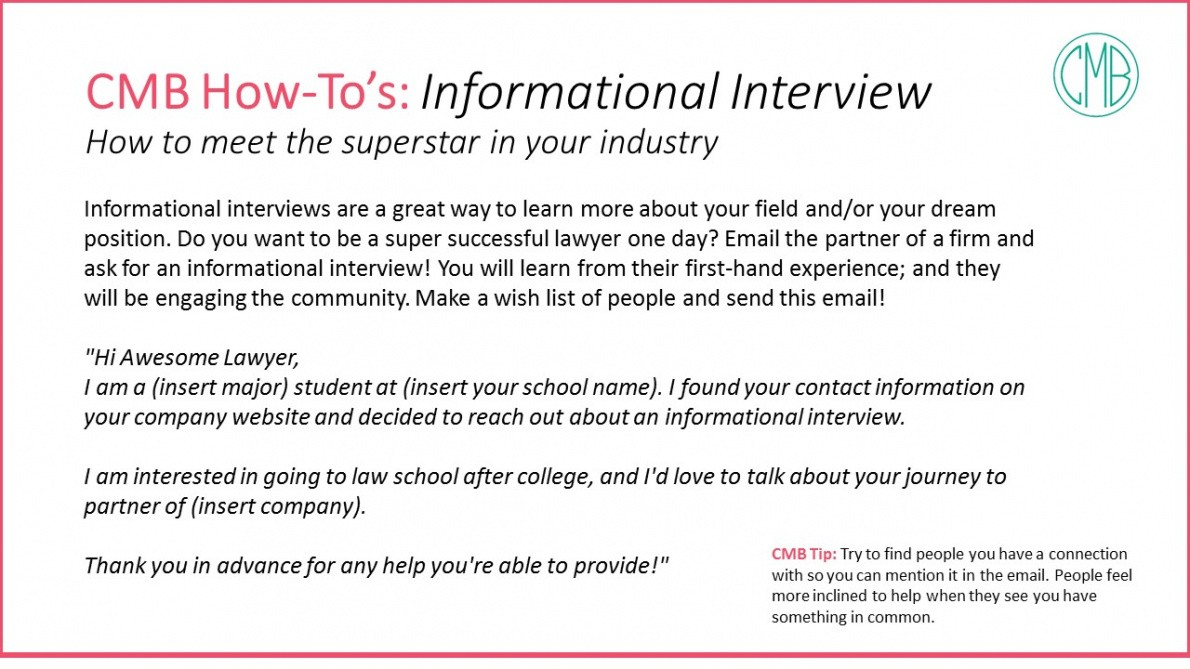 editable informational interview email template doc example