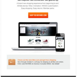 editable new website announcement email template excel example