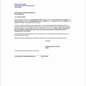 editable promotion announcement email template doc