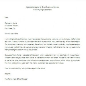 employee appreciation email template doc sample