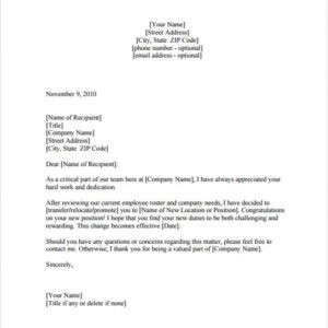 printable business promotion email template excel