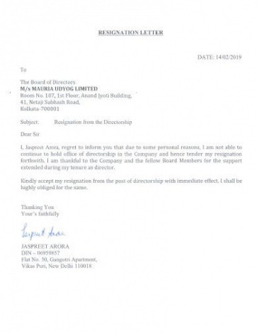 printable resignation announcement email template word sample