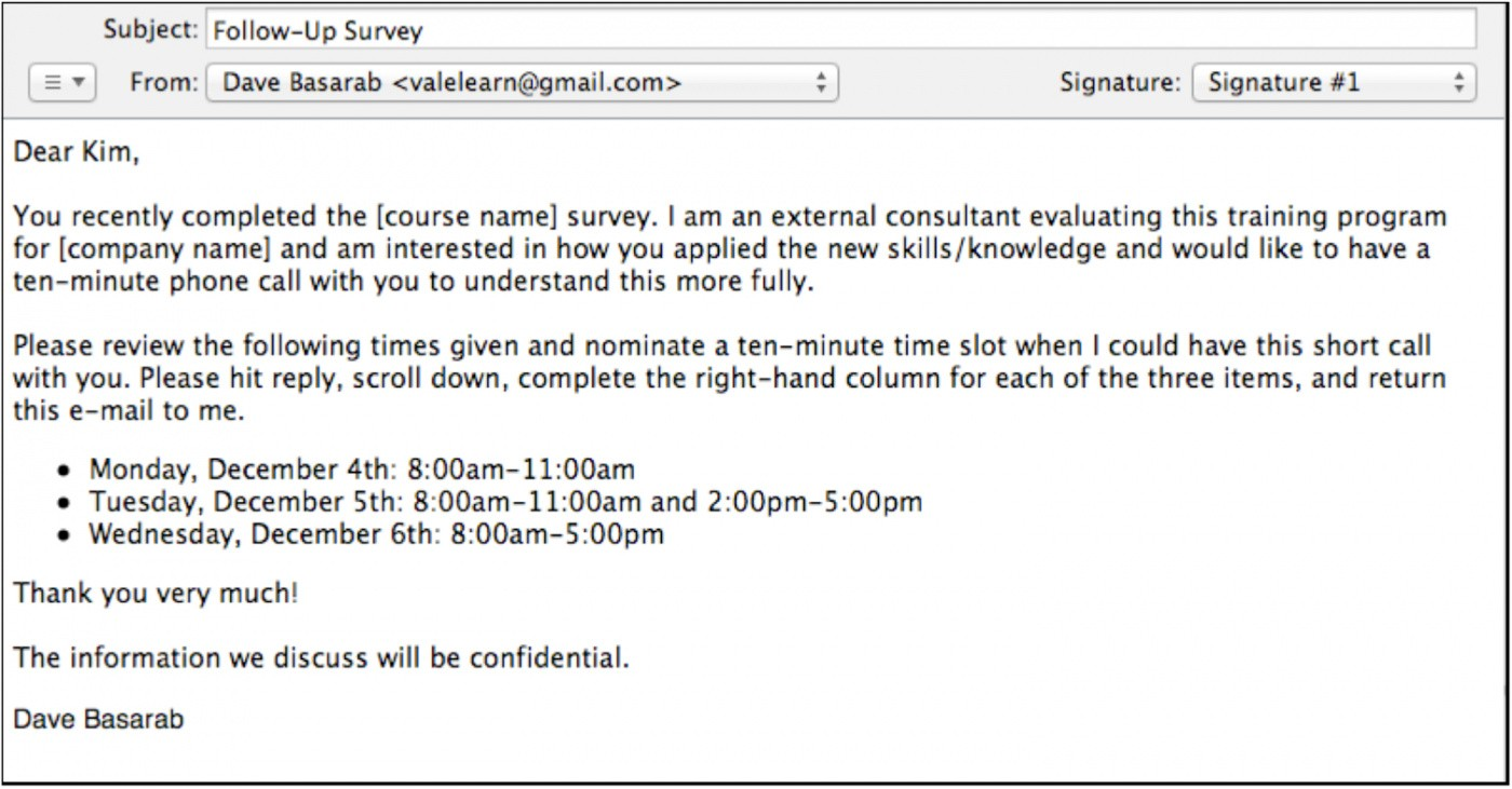 professional interview schedule email template doc example
