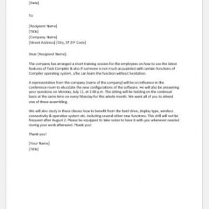 best new employee orientation email template pdf