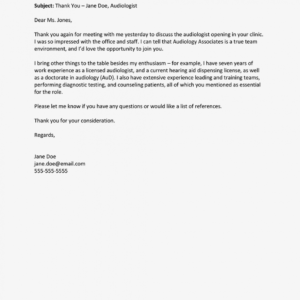 costum email template for resume submission doc example