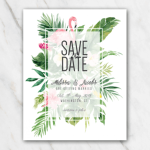 free wedding save the date email template doc sample