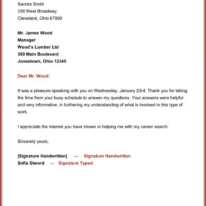 2nd follow up email after interview template word example