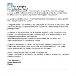 best 2nd follow up email after interview template pdf example