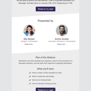 best demo request email template
