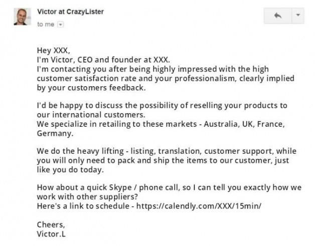 best email template to offer service to a client excel example