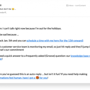 costum out of office email reply template doc