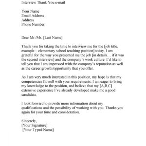 printable 2nd follow up email after interview template  sample
