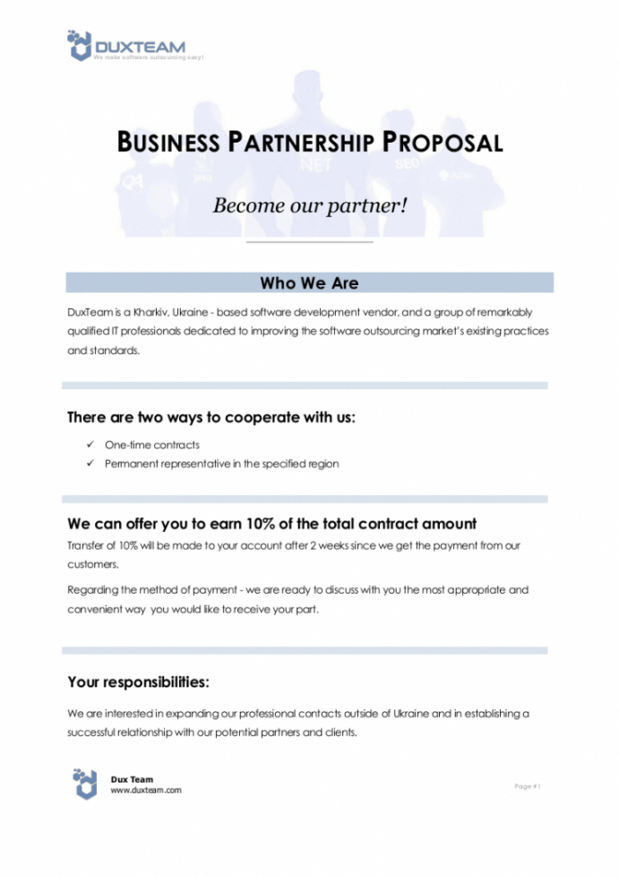 professional email template for business collaboration excel sample