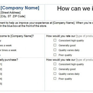 professional email template for customer satisfaction survey pdf sample
