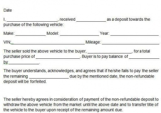 professional used car buying email template excel sample